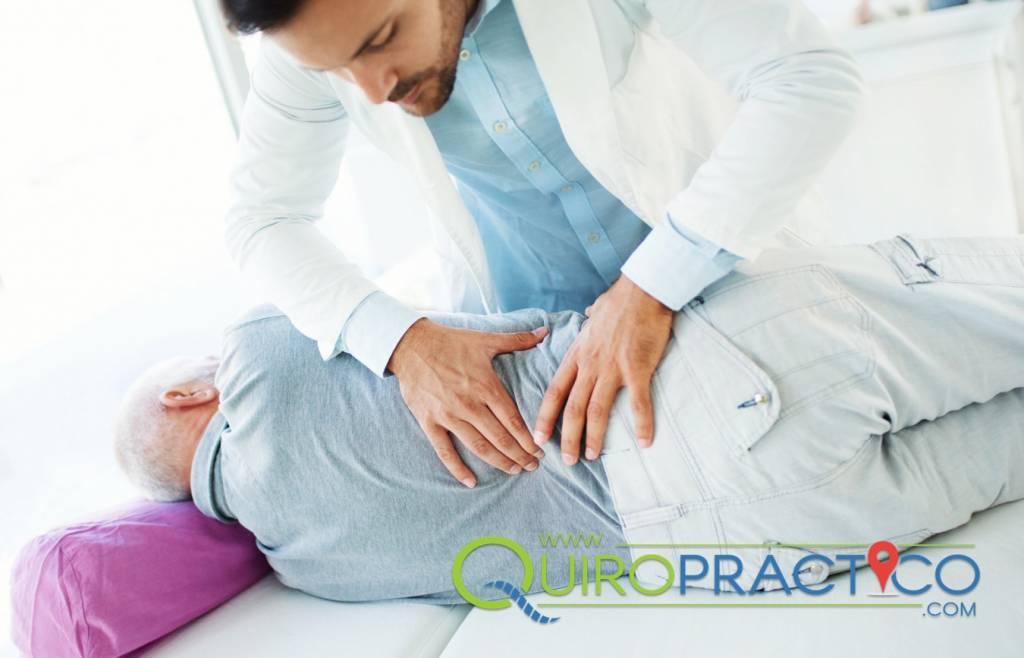 Ajuste quiropractico  solución al dolor del nervio ciático
