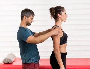examen quiropractico de postura