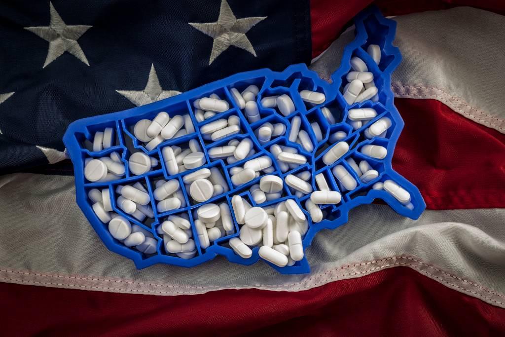 adicciom opioides en estados unidos