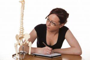 estudiante de quiropractica